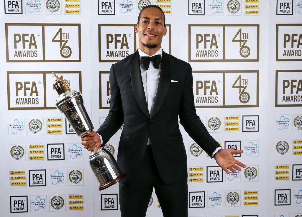 Premier League : Van Dijk désigné meilleur joueur de l'année