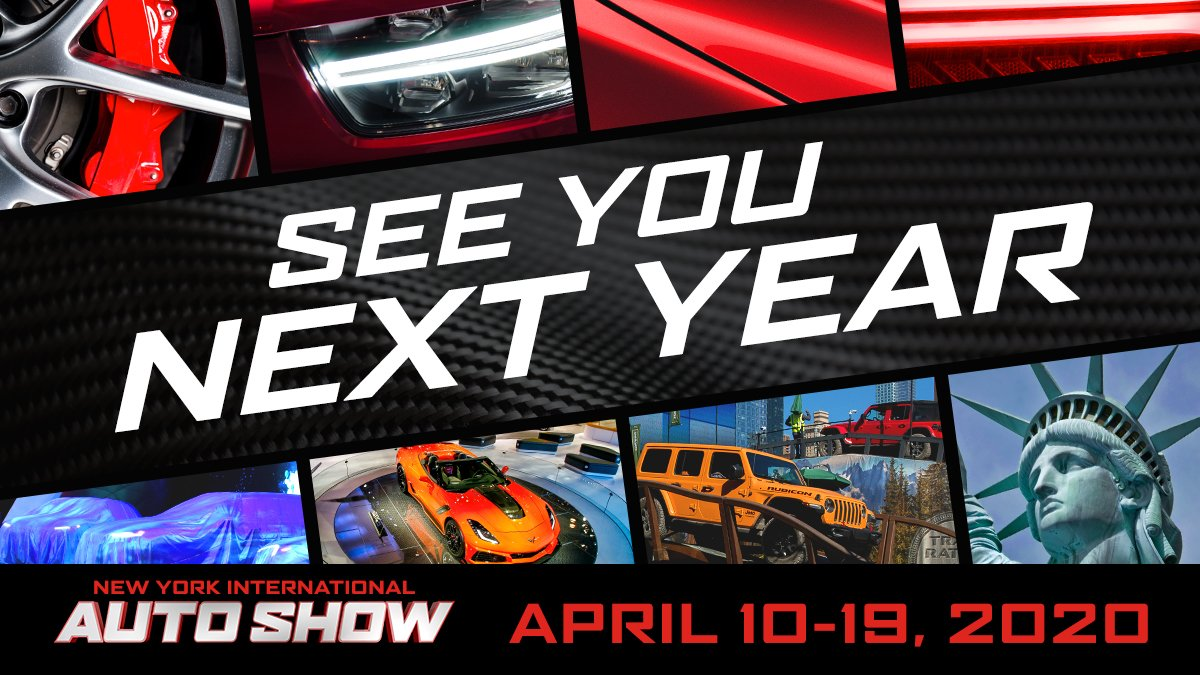New York International Auto Show 2020.New York Auto Show On Twitter Nyias 2019 Zooming Out