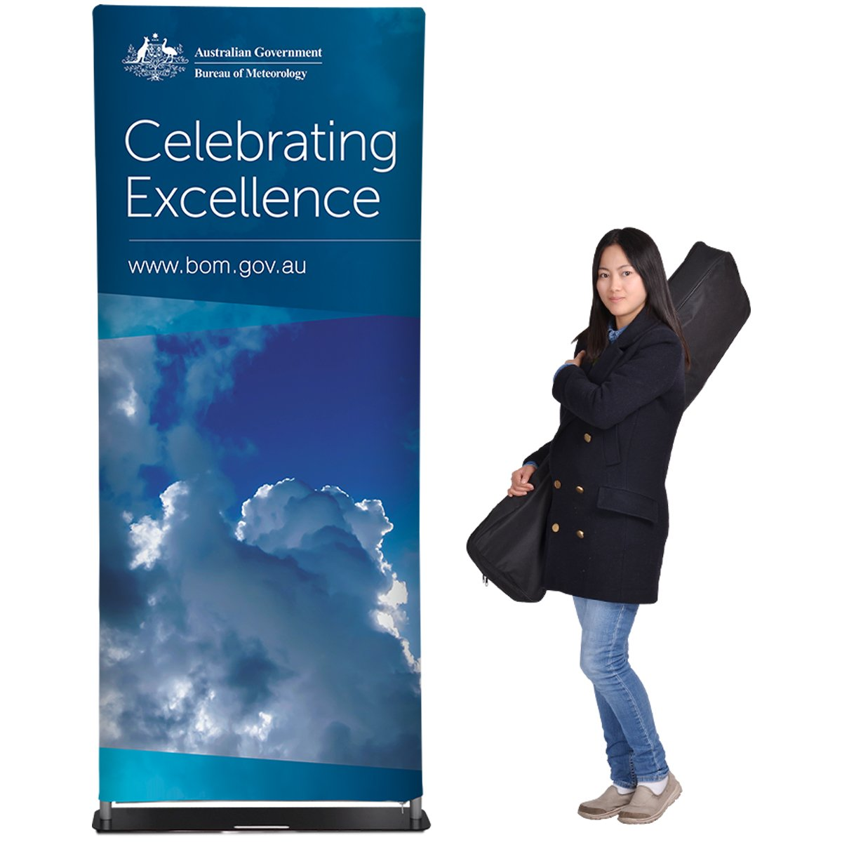 These stand banners are portable and include a nylon carrying bag that holds all the components for transport to events or storage. https://t.co/tw1UDMfGVa https://t.co/jaVnxUhD4g