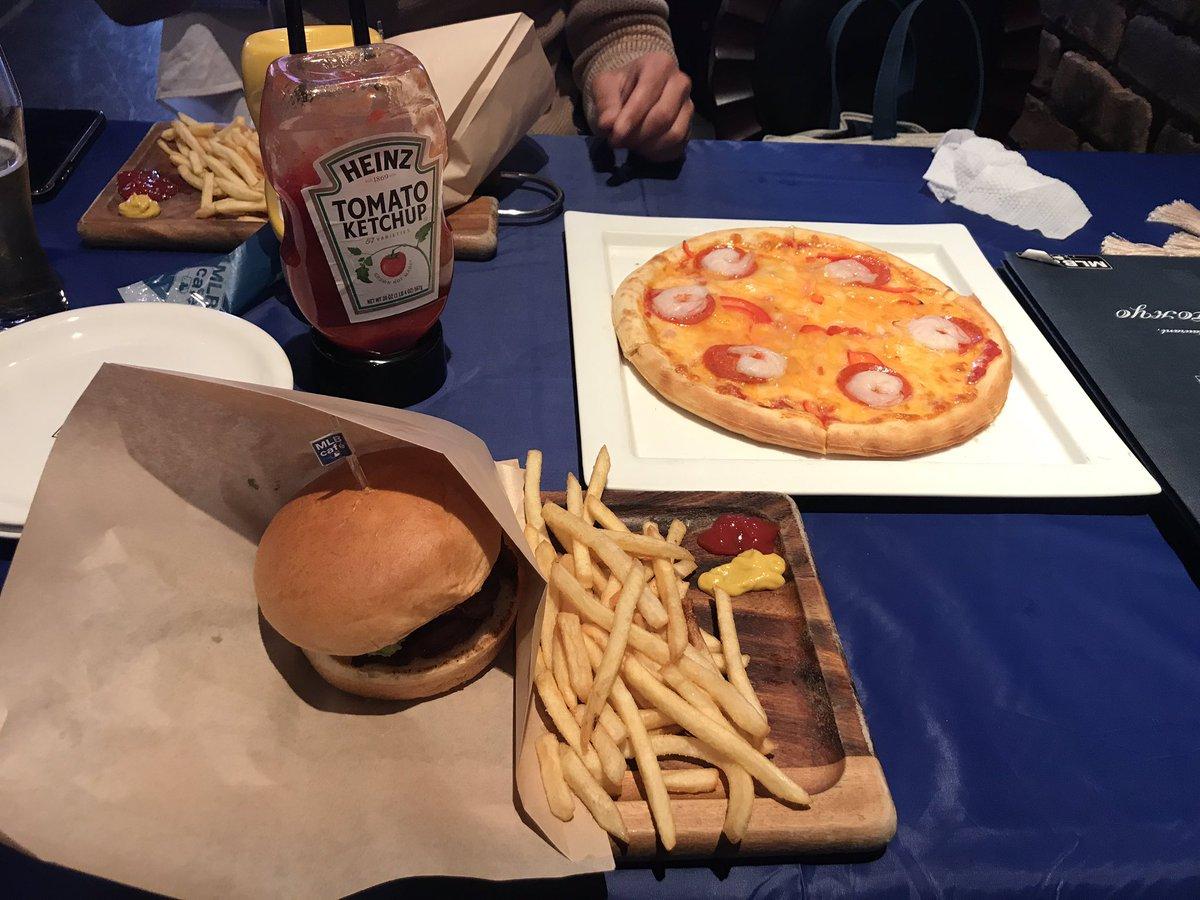 美味い😋 #MLBカフェ