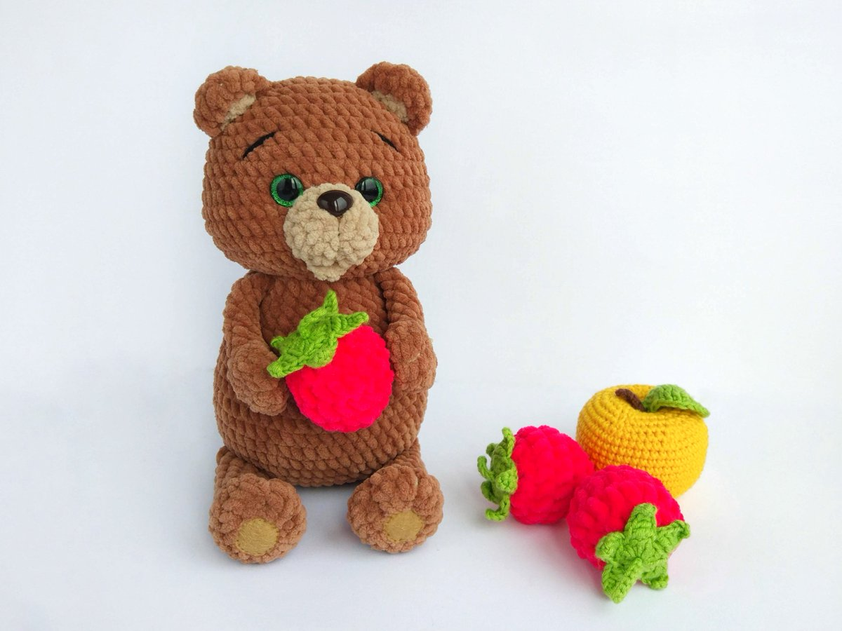Amigurumi Little Graduation Bear made2order | Etsy | 900x1200