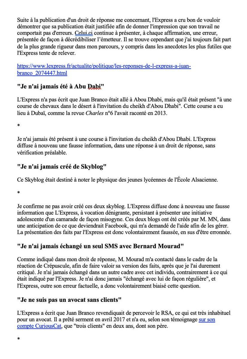 Juan Branco On Twitter Qu Avoir Partagé Un Blog à 15