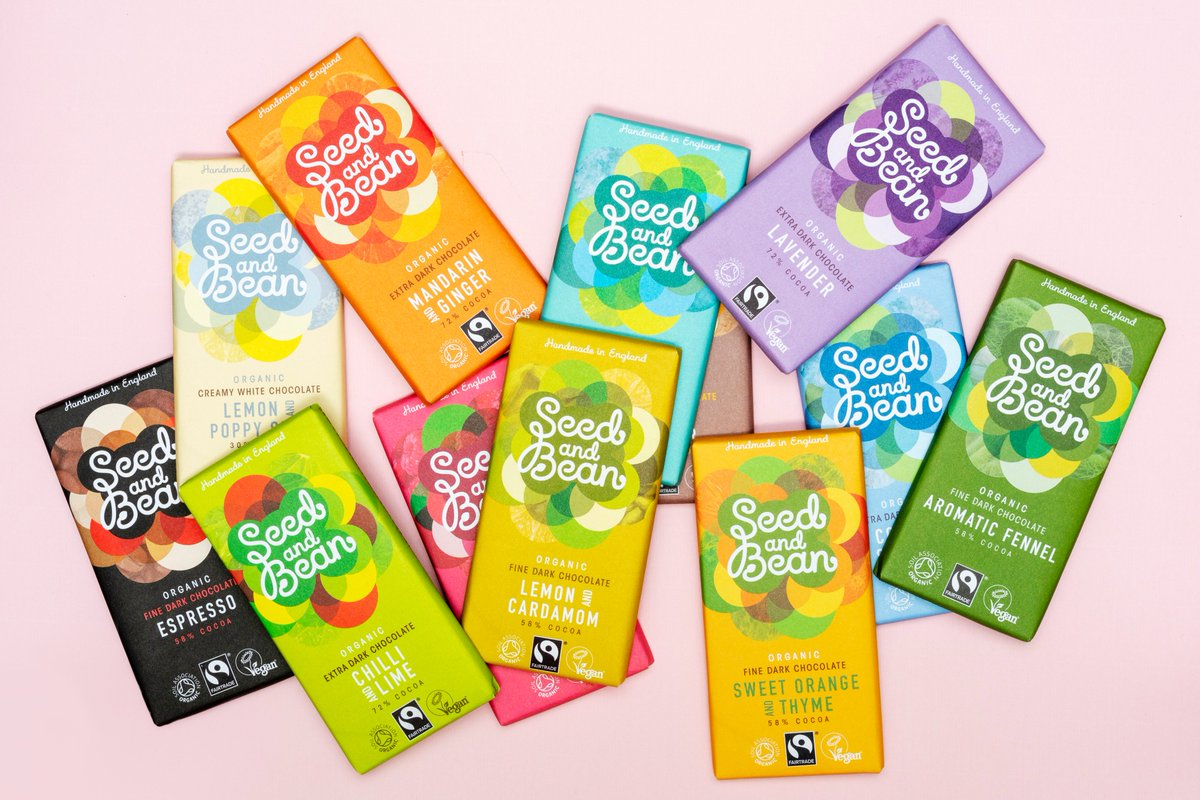 🎉 GIVEAWAY 🎉Win a choice of 5 vegan Seed & Bean chocolate bars, all with a wild side😜! These delightful chocs are handcrafted in England and also organic🍫 To enter:  1) Follow @greenjinn & @seedandbean  2) Like & RT to win 😋!  Good luck! Ends 05/05 https://greenjinn.com/blog/seed-bean-giveaway/…