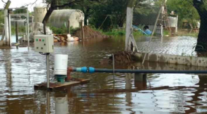 #SudesteCordobés | Por los caminos intransitables, tamberos deben tirar leche