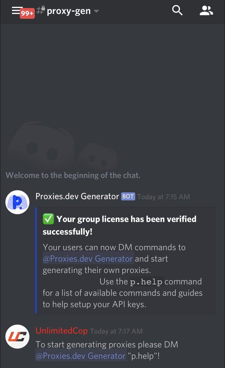 Proxies dev - Datacenter Proxy Generator (@proxiesdotdev) | Twitter