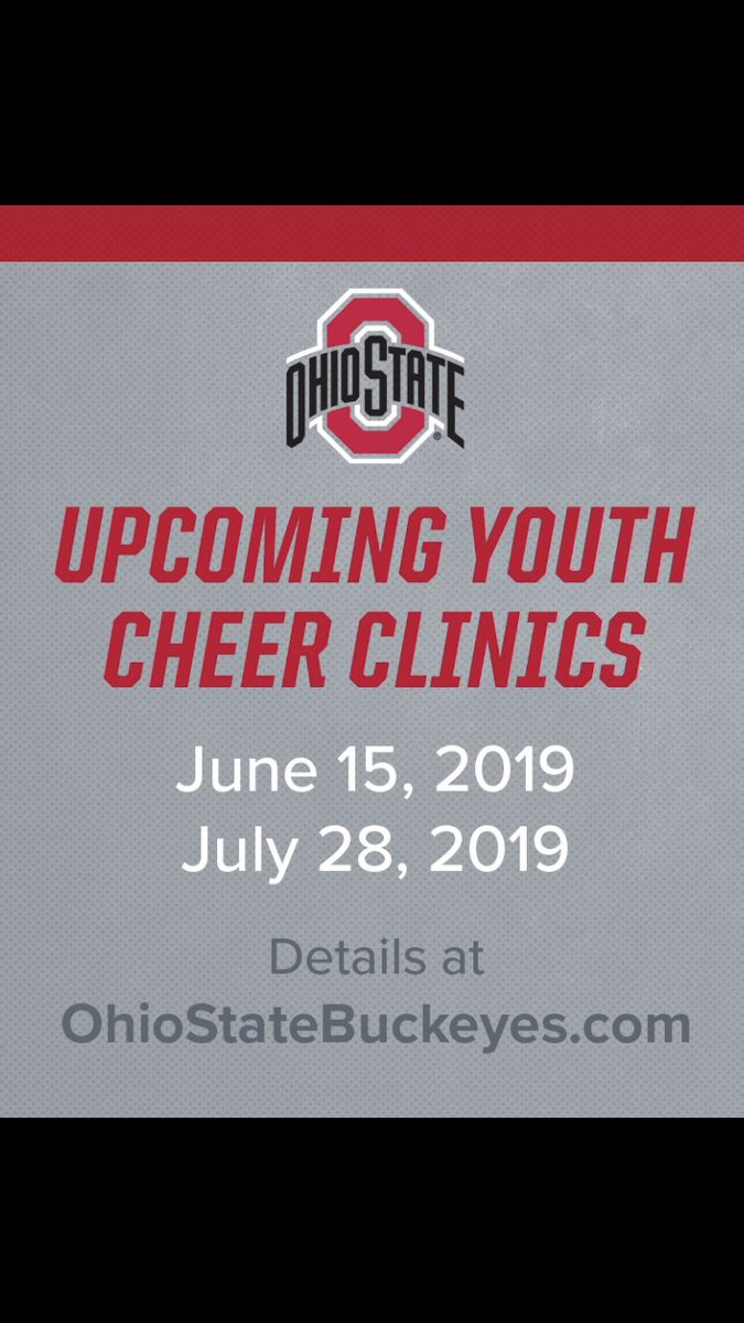 0e822924 ... get your own picture with Brutus! *Tee Shirt included!!  https://ohiostatebuckeyes.com/camps/ohio-state-cheerleading-camps/  …pic.twitter.com/QVIgieR3NA
