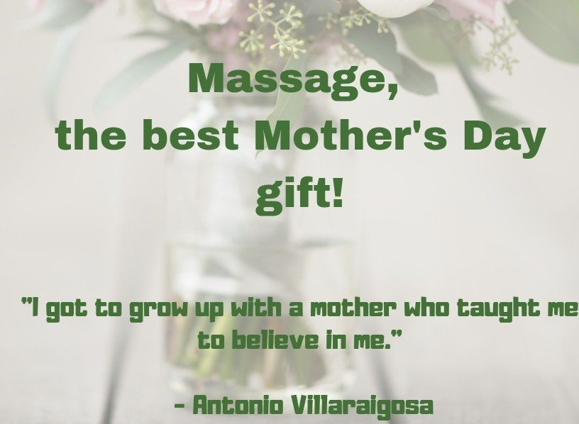 Mother's Day is May 12th! Purchase a massage gift certificate here, insideoutbodyworks.com/scheduleappoin…
