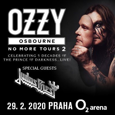 Ne, Ozzy nekončí. Ozzy přijede. A vezme s sebou i Judas Priest! 🎸🤟 @OzzyOsbourne a speciální host @judaspriest se do @o2arenapraha vrátí 29. února 2020. Ano, čtete dobře. 29. února. Náhoda, nebo záměr metalové legendy? Více info o koncertu na našem webu: http://bit.ly/OzzyOsbourneJudasPriest…
