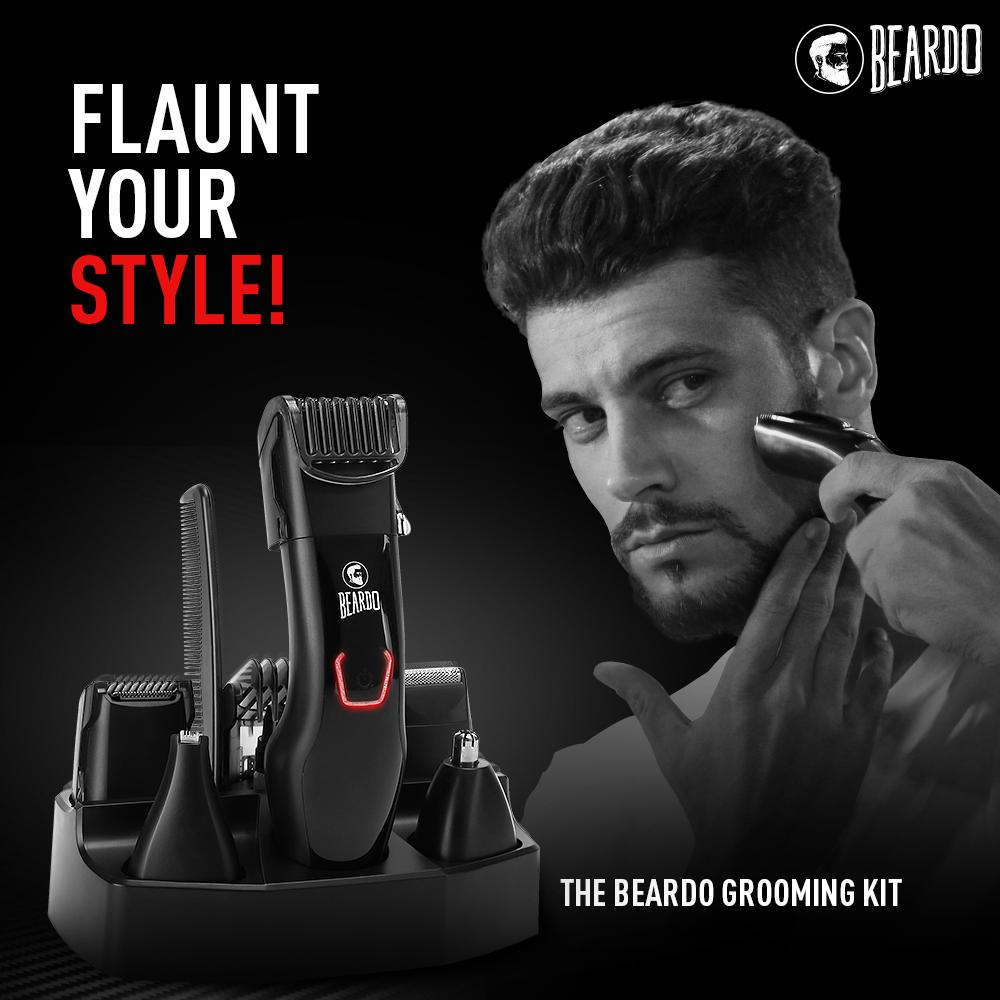Grooming is the finest art! Get the Beardo Grooming Kit from Flipkart. Buy now 👉🏻 http://bit.ly/2J3Xo2r  #Beardo #BeBeardo