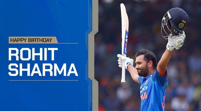 Happy birthday day Hitman Rohit Sharma