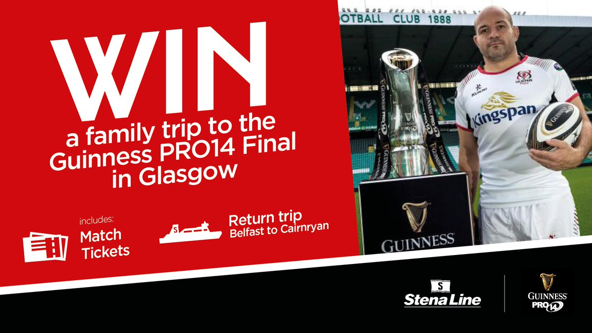 COMPETITION We've teamed up with @StenaLineUKIE and @PRO14Official