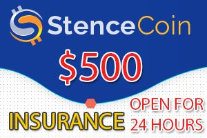 Image for STENCE COIN Insurance open!
