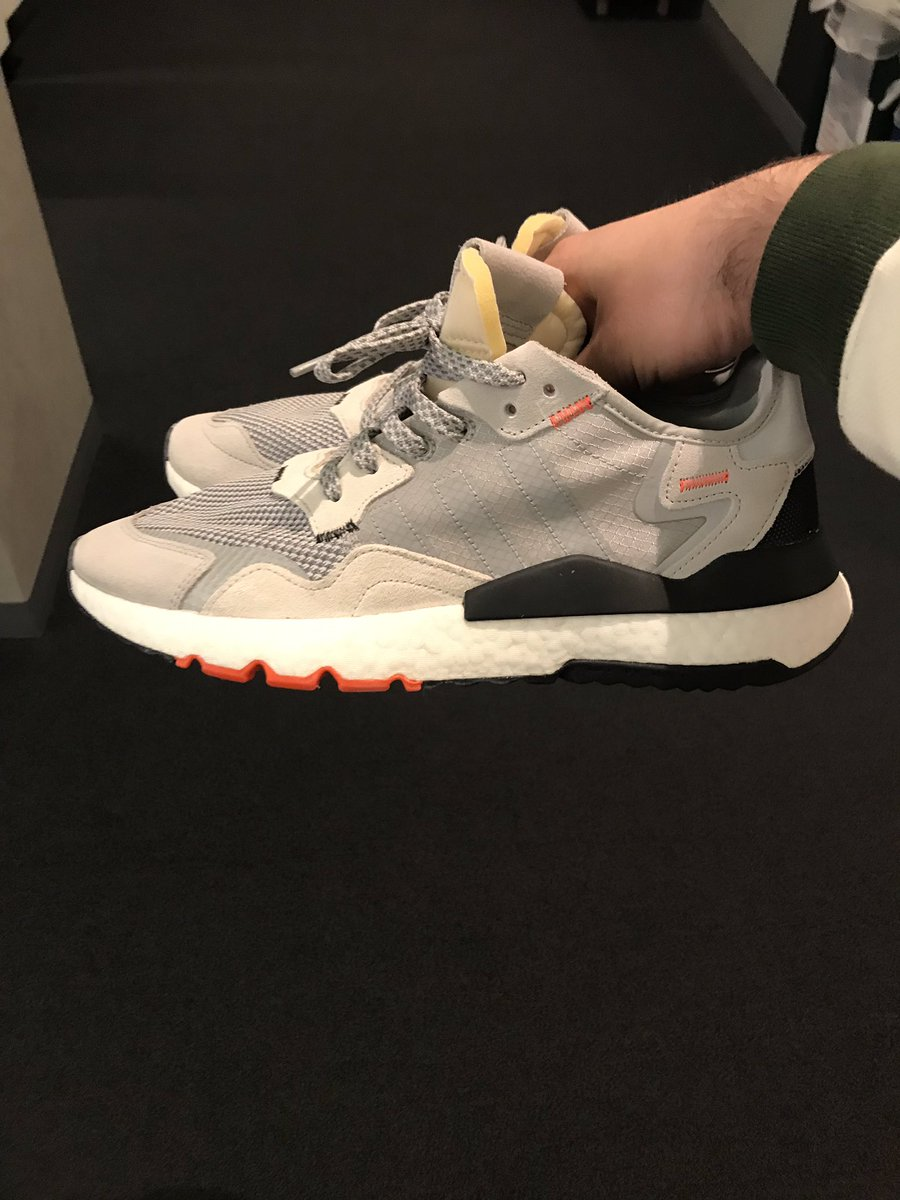 82dcedd06 Giving away these game worn Adidas Nite Joggers I got to wear as an   influencer. Pair goes to the first person who knows what sneaker I think  is the ...