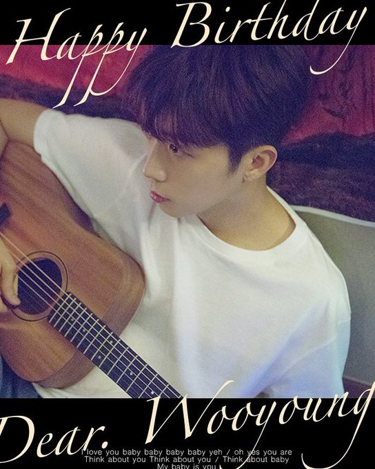 Happy belated birthday uri Mandu Jang Wooyoung Happily ever after
