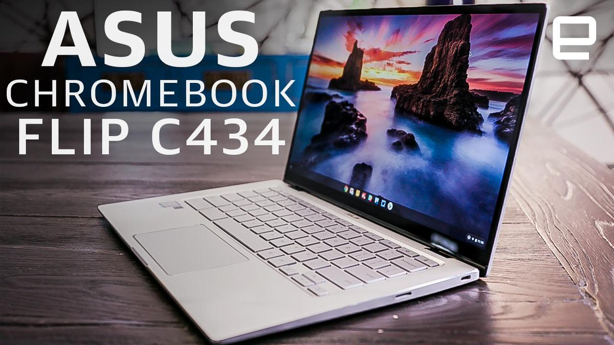ASUS Chromebook Flip C434 Review: Big, Expensive, Great
