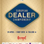Image for the Tweet beginning: The European Dealer Championship 2019