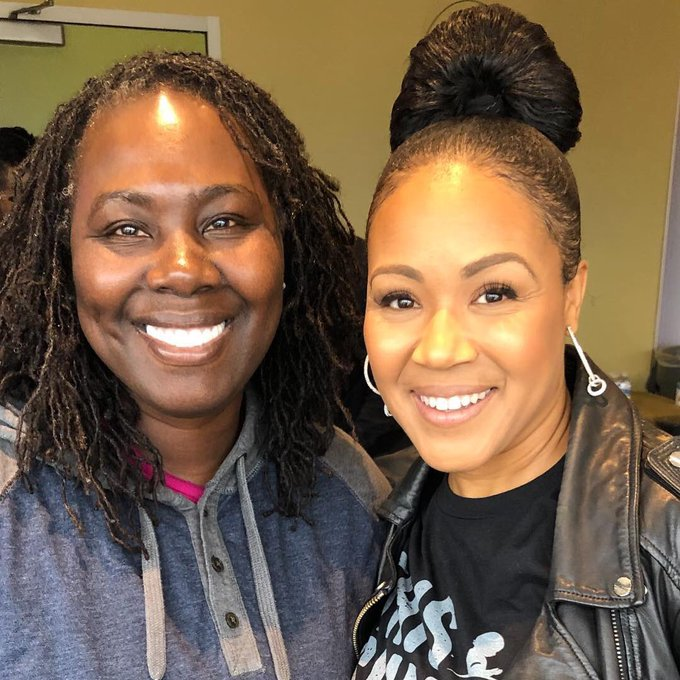 Happy Birthday to the authentically gifted and giving Erica Campbell!!!