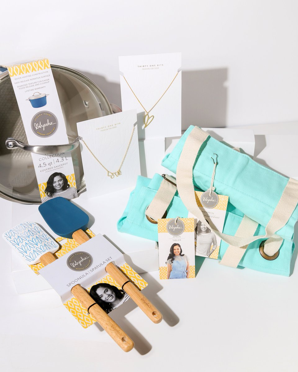 GIVEAWAY!!! @ayeshacurry x @31bits - We're picking THREE LUCKY WINNERS to receive items from Ayesha's Home Collection and ethical jewelry collab with 31 Bits. Enter here > https://31b.it/2TlhkQH  Ends 5/3 11:59 pm PST.