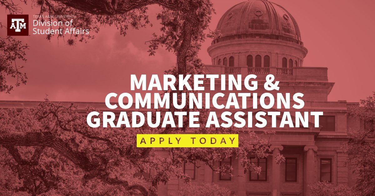 The Division Of Student Affairs Is Looking To Hire A Talented Graduate Fill
