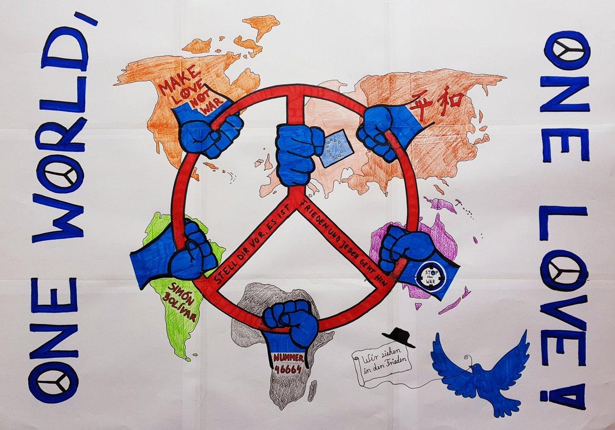 Udo Lindenberg Design-Wettbewerb @UNICEFgermany @udolindenberg #kindheitbrauchtFrieden  #wirziehenindenfrieden pic.twitter.com/wzAFzYOU9X