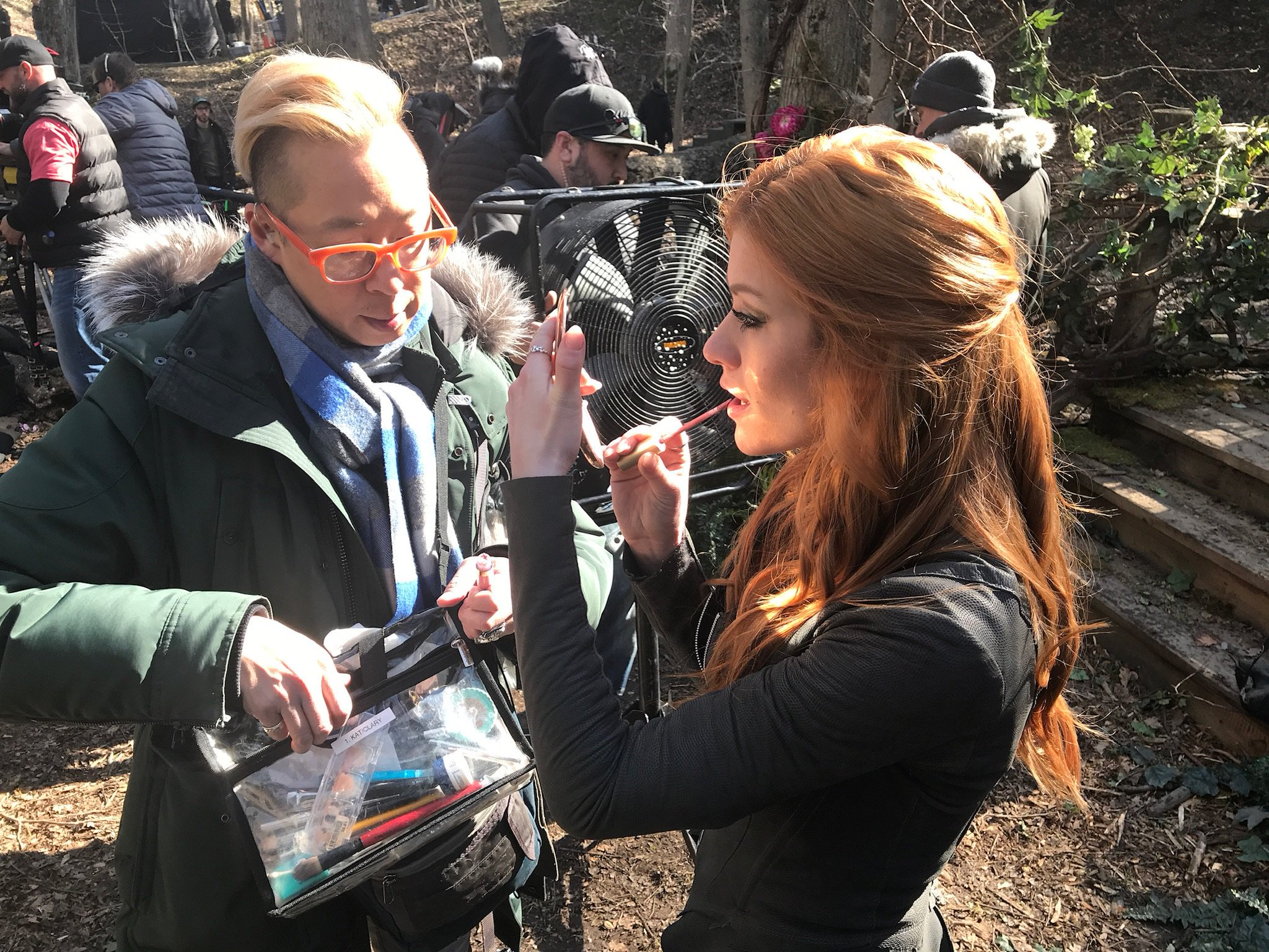 Katherine Mcnamara On Twitter When Fighting Your Boyfriend In The Woods Bribriguy23 Knows That Lipstick Is Very Important Shadowhunterstv Shadowhunterschat Shadowhunterslegacy Https T Co Vuvzfwlj0t