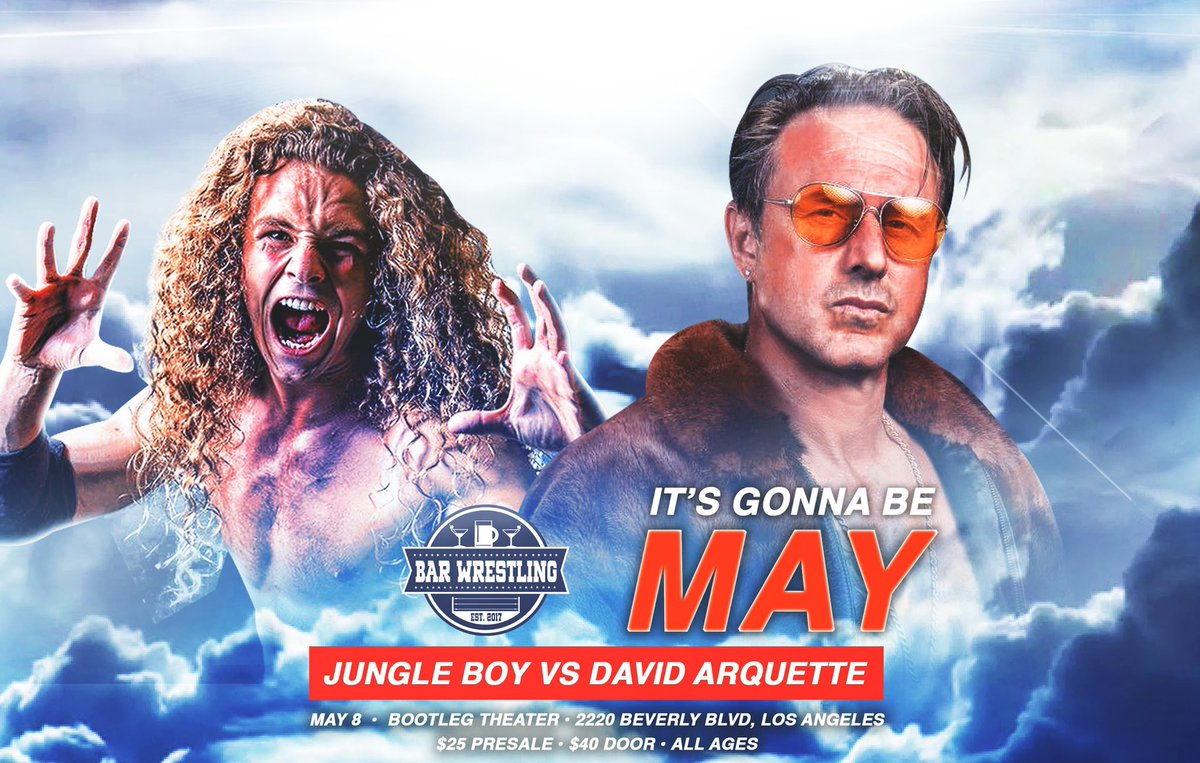 David Arquette To Face Luke Perry's Son Jungle Boy