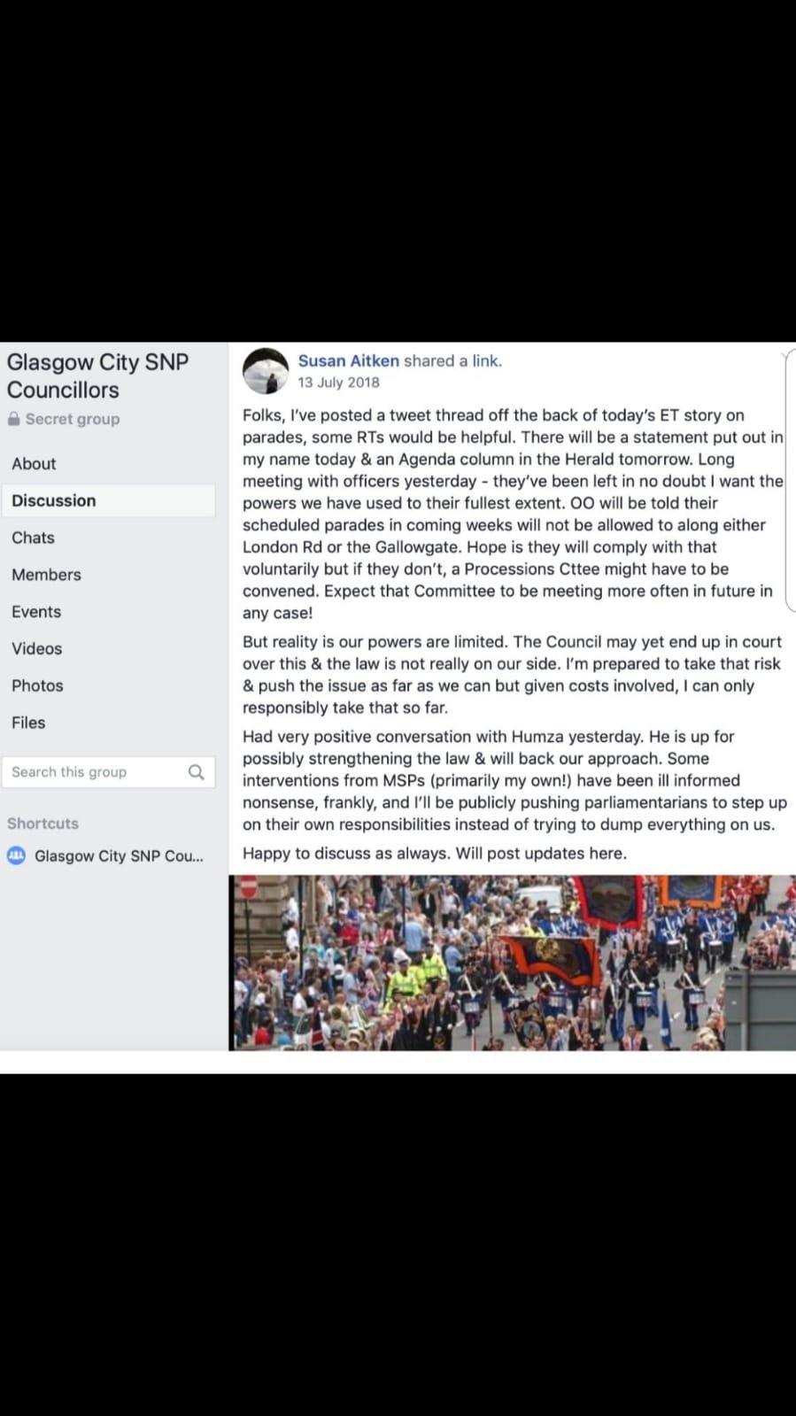 SNP boss Susan Aitken orders lackeys to smear Labour leader Frank