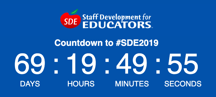 Have you registered yet?? There's plenty of time left! I can't wait to #fosterjoyfullearning with you and @SDE4Educators in sunny Las Vegas this summer!! #sdeevents #SDE2019<br>http://pic.twitter.com/tDjY6rPWfh