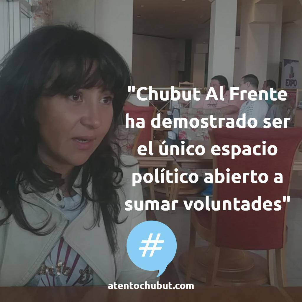La diputada provincial Cecilia Torres Otarola (@CHECHU0405) se refirió a la incorporación de Miguel Solis (precandidato del #FrentePatriótico) al espacio de Omar Aleuy, candidato a intendente de #Trevelin por #ChubutalFrente. 👉Más en https://atentochubut.com