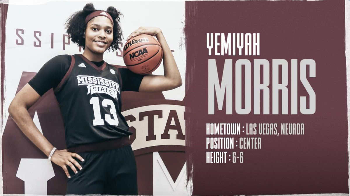 A slam dunk!  Get to know our newest Bulldog, Yemiyah Morris!  📰 http://hailst.at/Yemiyah   #HailState🐶 | @Mocchhhaaaaa