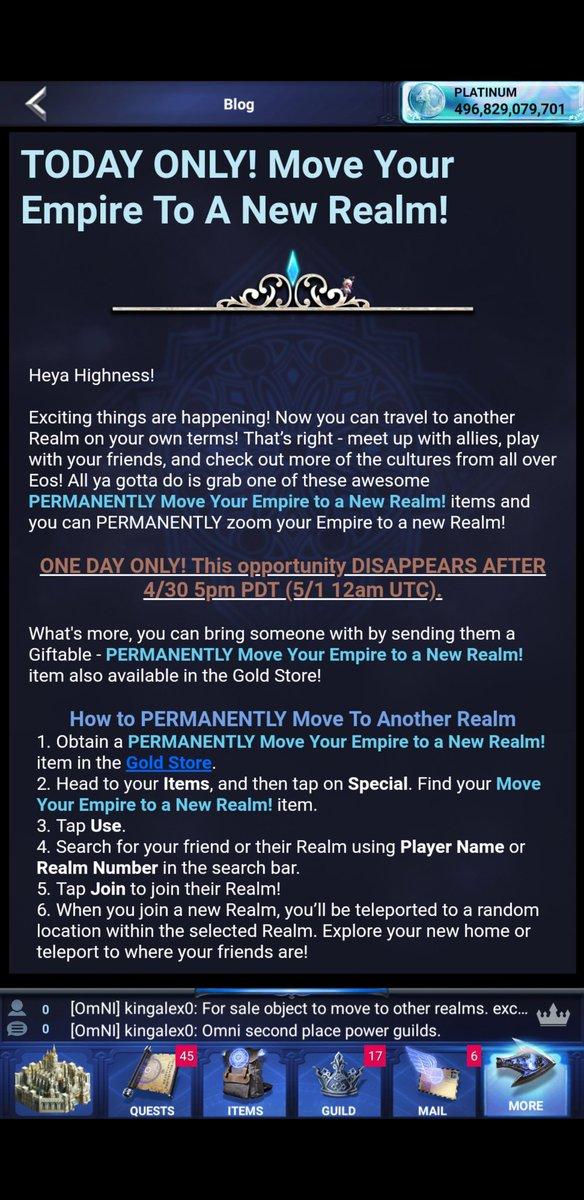 final fantasy a new empire change realm