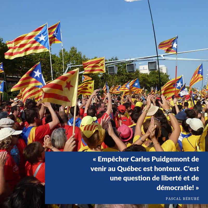 quality design 0fb15 65375 ... est d avoir participé à l organisation d un référendum sur  l indépendance du peuple catalan. Ottawa doit rapidement réviser sa  décision et s expliquer.