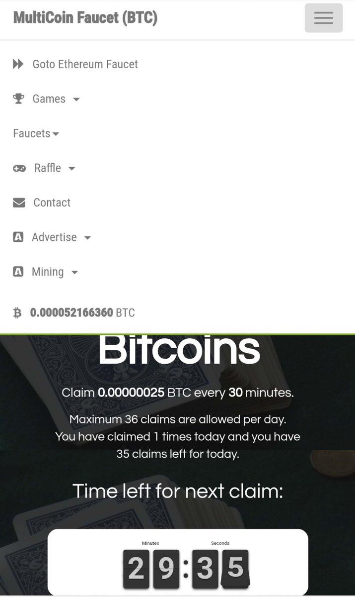Cointiply Bitcoin Faucet Earn Free Bitcoin t