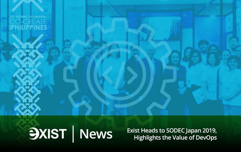 Exist Heads to SODEC Japan 2019, Highlights the Value of DevOps https://t.co/3xag50eHRq #DevOps #JapanITWeek #Agile https://t.co/kOWAeKI1ct