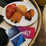 Image for the Tweet beginning: Premier rendez-vous professionnel à l'#hotel