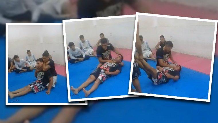 #EscándaloenSalta | Profesor de artes marciales estranguló y desmayó a un alumno