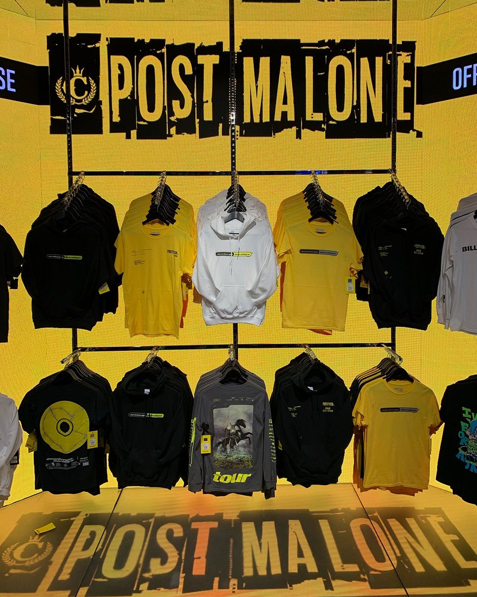 Get ready for the upcoming Post Malone Tour Rocking nothing