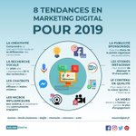 Image for the Tweet beginning: #infographie  Retrouvez les 8