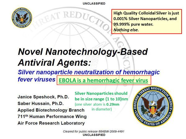 """So has anyone even considered trying what the Stanford/USArmy research team suggested - Silver Nanoparticles?  Or would that be considered cheating?  (Silver Nanoparticles in pure water is sold as """"Colloidal Silver"""". https://bio-alternatives.net/buysilver.htm)  $80/gallon, delivered."""
