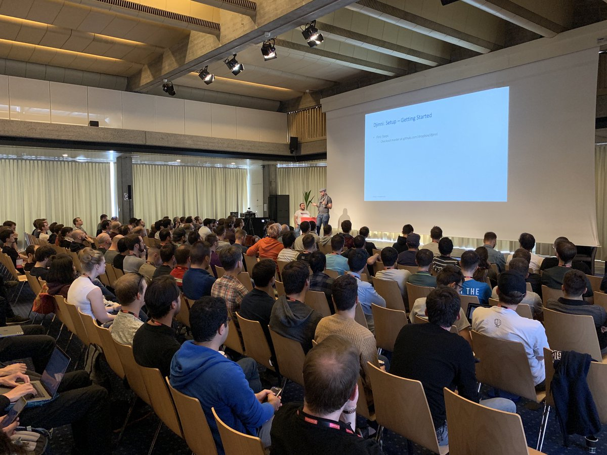 Another day starts at #appbuilders19! @marzimdrums, @nmaerki and @joseph_mallah will show us how to share code between iOS and Android apps