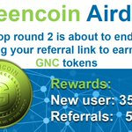 Image for the Tweet beginning:   #Greencoin #GNC #Tokensale #ICO #Airdrop