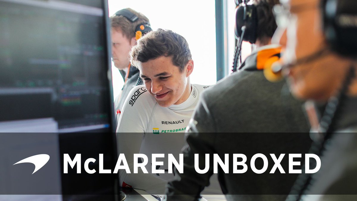 Can't wait to see a new McLaren episode #McLarenUnBoxed.