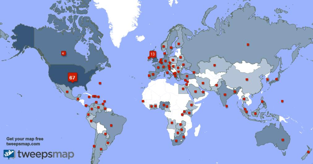 Special thank you to my 12 new followers from Italy, and more last week. tweepsmap.com/!dtrawdealent