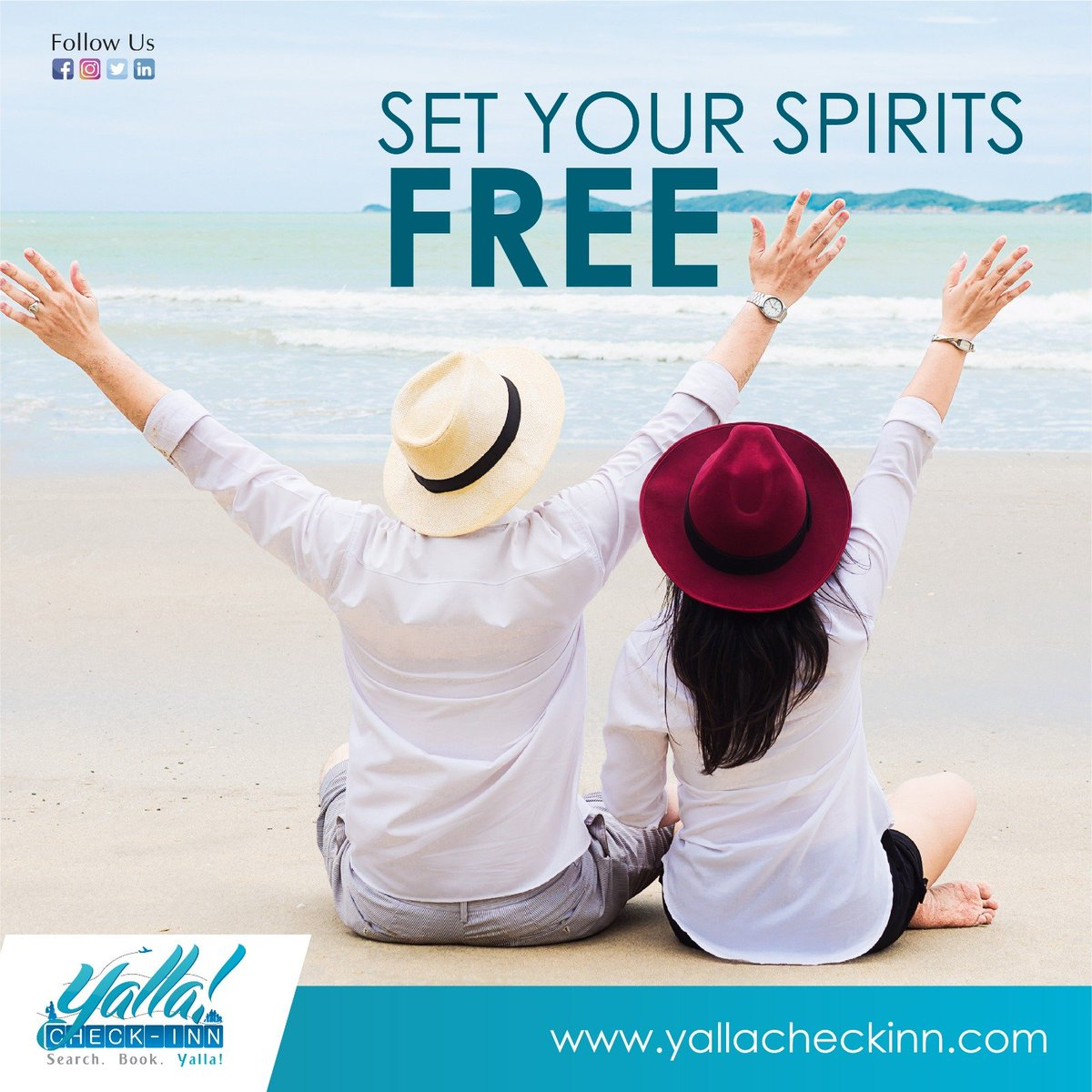 Enjoy your #Holidays  #Hotel & #Flights Booking with #YallaCheckinn  https://t.co/baScaLmf0C https://t.co/cE7yvNk2yX