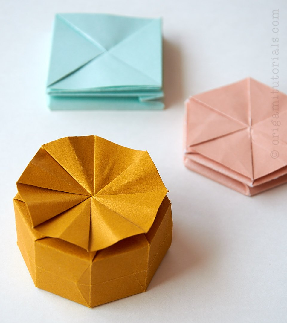Tato and Origami Containers | 1080x960