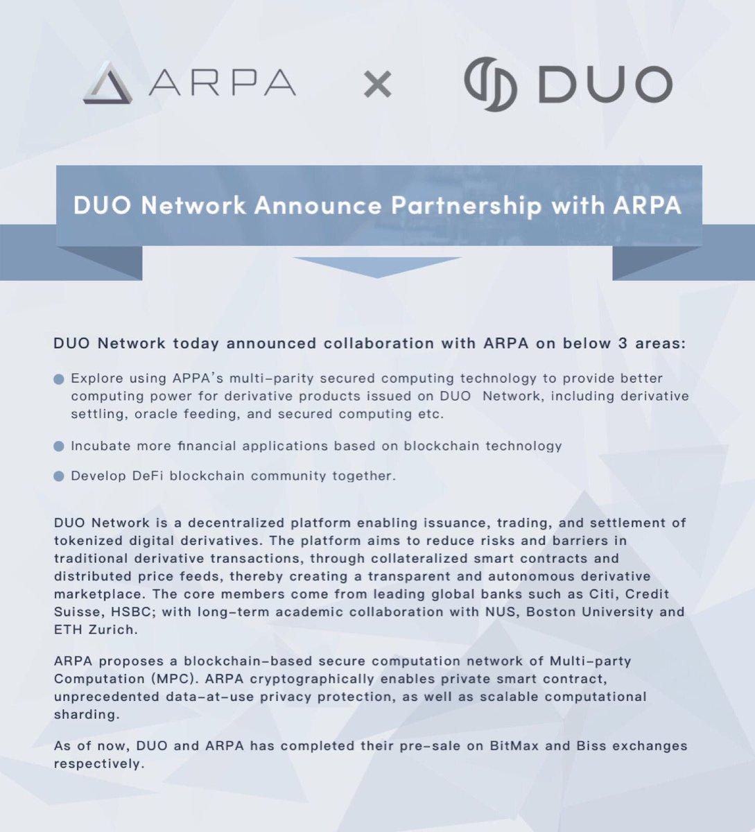 DUO Network Token DUO