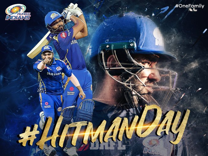 Happy birthday to one of the best batsmen in world rohit sharma