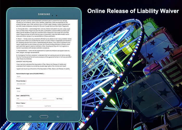 Create an online minor liability waiver for kids playground. #WaiverApp #OnlineReleaseForm #OnlineWaiverSystem #WaiverOnline #OnlineWaiverApp #SignWaiverOnline #DigitalReleaseForm #WaiverPlatform #OnlineMinorLiabilityWaiver https://www.cleverwaiver.com/?ftwitter