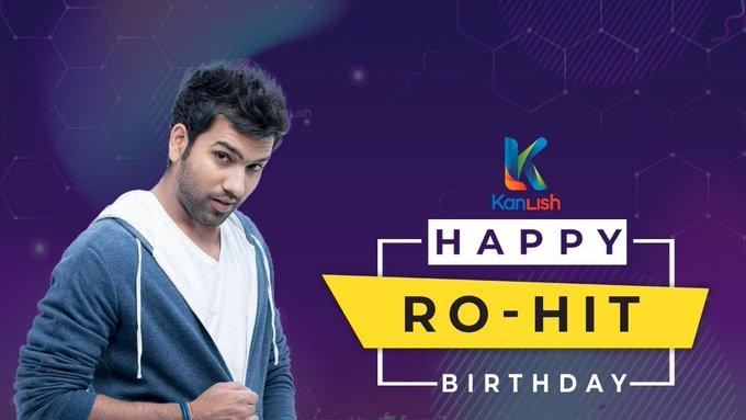 Happy Birthday Rohit Sharma Log on to: