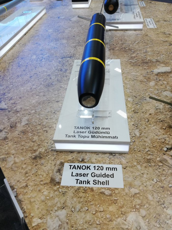 تعرف على قذيفه دبابات Tanok الموجهه ليزريا من انتاج شركة roketsan التركيه  D5ZRm9MXkAAJkEo
